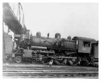 Lehigh Valley Railroad LVRR # 1819 Steam Engine 8 x 10 Silver Halide Photo