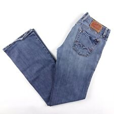 Lucky Brand Jeans Women's Sundown Arch Blue Flare Leg Medium Denim Size 6