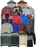 Mens Knitted Jumpers Cardigans Sweater Thick Warm Winter Pullover Tops