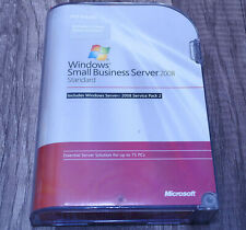 Microsoft Windows Small Business Server 2008 5CAL T72-02654 full ver genuine SP2
