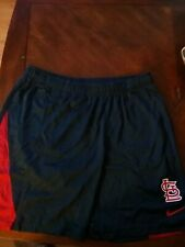 Nike MLB St. Louis Cardinals Workout Shorts Size Large Preowned