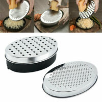 Kitchen Cheese Grater with Container Storing Fruits Cheese Box Stainless Steel