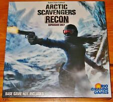 ARCTIC SCAVENGERS: RECON Expansion Game Rio Grande NEW/US SHIPS FREE/SHIPS INTL!