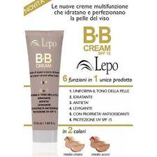 BB Cream - Argan e Karitè - 6 Funzioni - Tonalità 2 - Medio scura -50ml - Lepo
