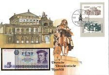 Numisbrief DDR: Semperoper Dresden vom 12.02.1985