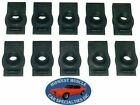 Nosr Ford Mercury Body Fender Frame Grille 14-20 Bolt U Clip Panel J Nut 10pc E