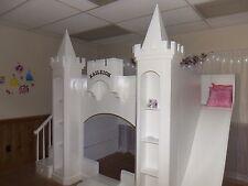 NEW CUSTOM PRINCESS KAILEIGH CASTLE LOFT/BUNK BED/INDOOR PLAYHOUSE
