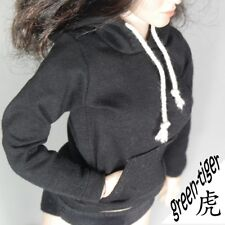1:6 Scale ace Female figure parts - BLACK hoody hoodie Street style Free Ship