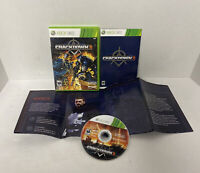 NICE DISC Crackdown 2 (Microsoft Xbox 360, 2010) Complete Map Manual Disc Case!