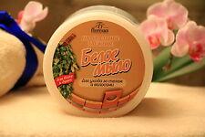 White Taiga Russian Soap for Hair and Body  Tar 450 ml Floresan NATURAL sauna