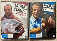 2x EXTREME FISHING With Robson Green DVD Sets - Season 3 + Season 5 NEW & SEALED