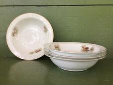4 Fukagawa Arita PINE CONE Pattern 504 Berry Bowls * Hand Painted
