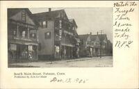 Putnam CT South Main St. c1905 Real Photo Postcard