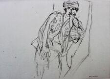 Henri Matisse Lithograph Cinquante Dessins Limited Edition Planche XXIV 1920