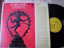 KARNATIC lp A PANORAMA OF SOUTH INDIAN MUSIC VANGUARD EVERYMAN NOMAD SRV-73011