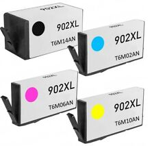 4PK FOR HP 902XL 902 XL Set Ink Cartridge Officejet 6950 All In One 6951 6954