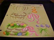 Donna Dewberry One Stroke Eggs Reusable Teaching Guide Easter RTG