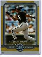 Frank Thomas 2019 Topps Museum 5x7 Gold #25 /10 White Sox