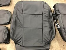 Katzkin 2019 Ford F250 Xlt Super Crew Leather Seat Cover Kit Factory Match Black