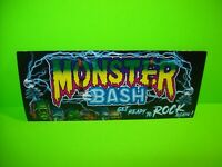Monster Bash REMAKE Pinball Machine FLYER Creature Dracula Wolfman Artwork FOLDS
