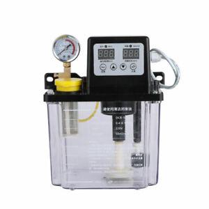 2L Automatic Lubrication Pump Electromagnetic Oil Pump Digital Display 220V new
