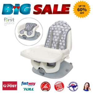 The First Years Portable Safety Baby Seat Safe Chair Tray Feeding Booster Infant