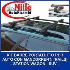 Barre PORTATUTTO Hyundai Santa Fe SM Tradizionali CORRIMANO dal 2000 al 2006 per Auto con Railing