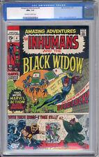 Amazing Adventures #4 CGC NM+ 9.6 Black Widow Adams