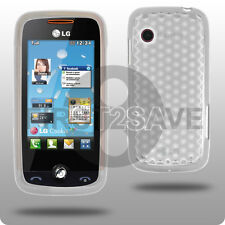Clear Gel Case Skin Cover for LG Cookie Fresh GS290 UK