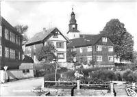 AK, Meura, Teilansicht mit Kirche, 1977