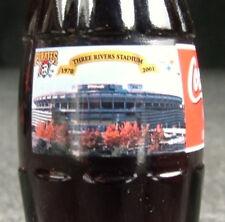 Three Rivers Stadium Steelers Pirates Coca-Cola Coke Bottle