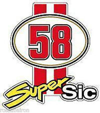 1 ADESIVO 58 M STRISCE SUPERSIC MARCO SIMONCELLI