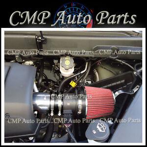 BLACK & RED 2007-2011 GMC ACADIA DENALI SL SLE SLT 3.6 3.6L V6 AIR INTAKE KIT