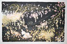 PARK- Lithographie originale signée - Le clair de Lune