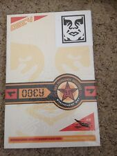 Obey Giant Shepard Fairey Stationary Sticker Stencil Set Rare 2002