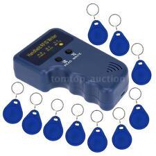 Handheld 125KHz RFID ID Card Writer/Copier Duplicator + 10x EM4305 Key Card ZN3L