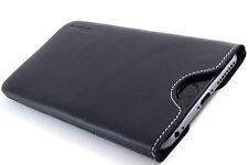 iPhone 5 (S) Leder Handytasche schwarz Case Hülle Pouch Cover Etui WUNSCHGRAVUR