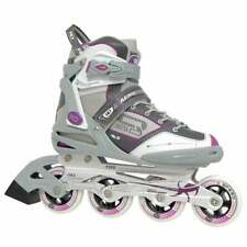 Roller Skates Derby Aerio Q-60 Womens Inline Skate Buckle And Lace Closure Grey