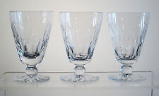 "CANTERBURY by WEBB CORBETT Footed Juice Glasses 4"", SET of THREE"