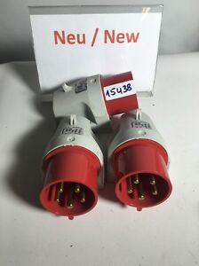 1 Pieces WALTHER Cee 630 Wall Socket 5p 32A 2300/400v