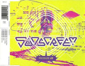 Sunscreem – Pressure US 4-Track CD Single Fire Island Mix / Junior Dub HOUSE