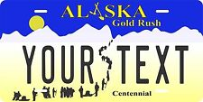 Alaska 1997 License Plates Tag Personalized Auto Car Custom VEHICLE OR MOPED