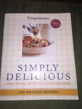 Weight Watchers Book SIMPLY DELICIOUS diet cooking recipes weight loss POINTS