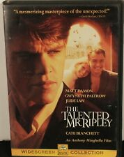 The Talented Mr. Ripley Widescreen Dvd 2000