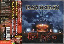 IRON MAIDEN - Rock in Rio - 2 CD - Japan 2002 -  EMI - TOCP-65948•9