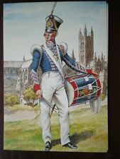 POSTCARD DRUMMER THE 2ND (QUEENS ROYAL) REGIMENT OF FOOT 1825