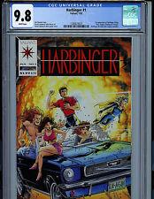 Harbinger #1 with Coupon CGC 9.8 NM/MT Valiant Comics 1992 Amricons K16
