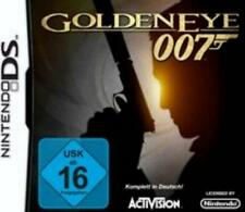 Nintendo DS 3DS James Bond Golden Eye 007 Deutsch Neuwertig