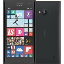BNIB Nokia Lumia 735 Dark Gray 8GB Windows 10 Wifi 4G GPS Unlocked Smartphone