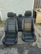 BMW F10 5 SERIES SALOON BLACK LEATHER SEATS